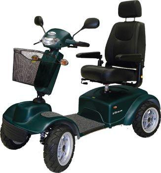 Scooter Elettrico Titan 4 Ruote Maxi Ausili Per Disabili E Anziani